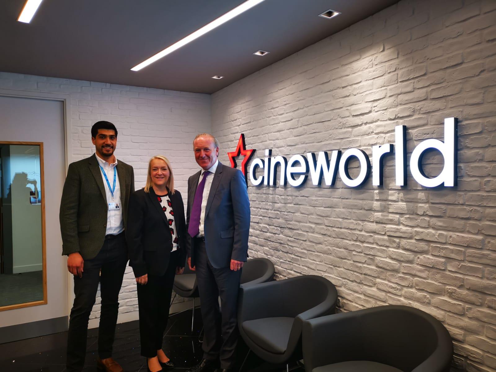 CINEWORLD AWARDS LODGE SECURITY NEW GUARDING CONTRACT